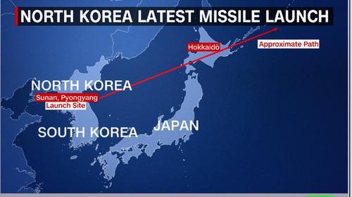 日本政府が北朝鮮ミサイルを警告04
