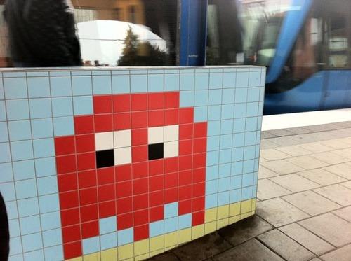 ストックホルムの駅が8bitゲーム風03