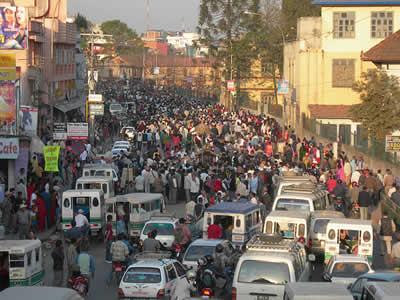 世界各国の渋滞-ネパール