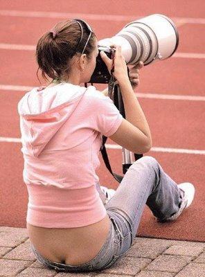 写真を撮られるカメラマン013