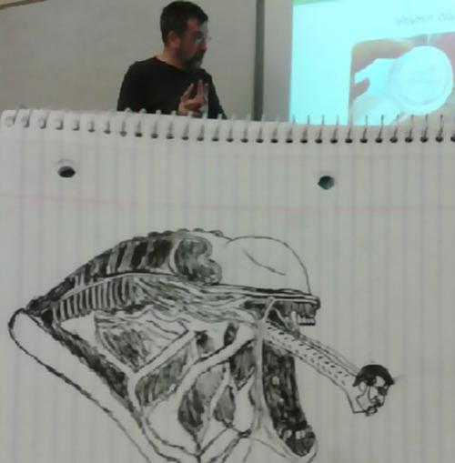 授業中に先生の似顔絵を描き続けた結果09
