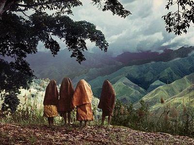 パプアニューギニアの女性