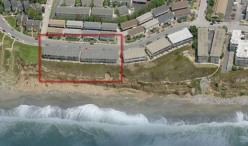 カリフォルニアのアパートが崖っぷち03