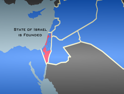 State of Israel is Founded