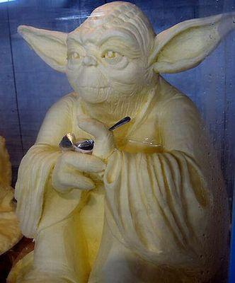 バター彫刻09