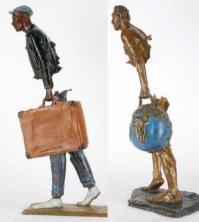 フランス人彫刻家ブルーノ・カタラーノ03
