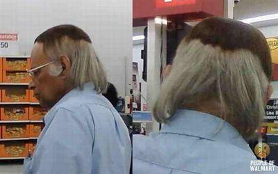 おもしろいヘアスタイル・カラー