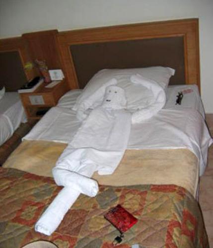 ホテルのタオルで折り紙16