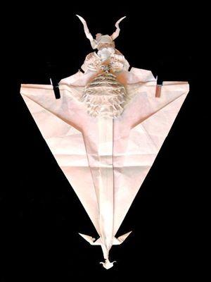 神レベルの素敵な折り紙-製作2