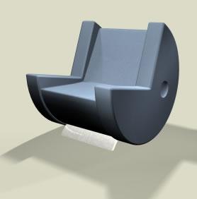 パックマン椅子2