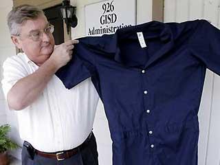 校則違反すると囚人服を着せられるテキサスの高校