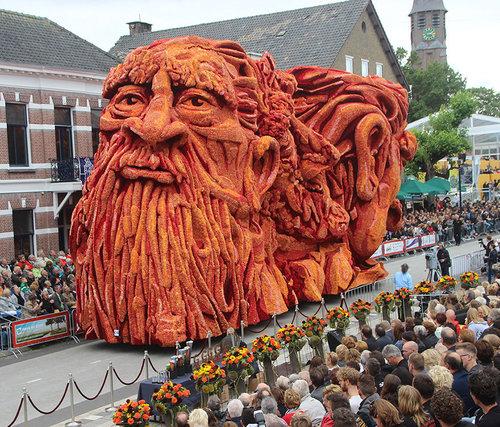 オランダのフラワーパレードとゴッホ09