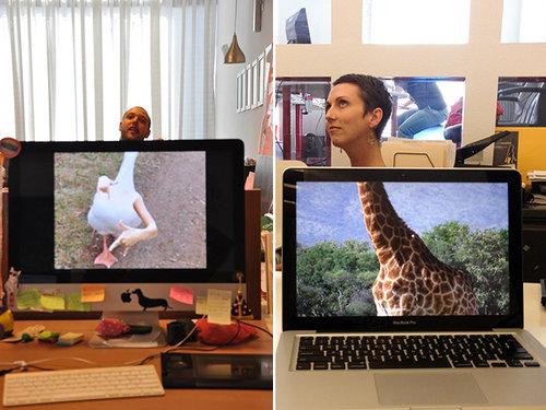 職場で「動物園ごっこ」08
