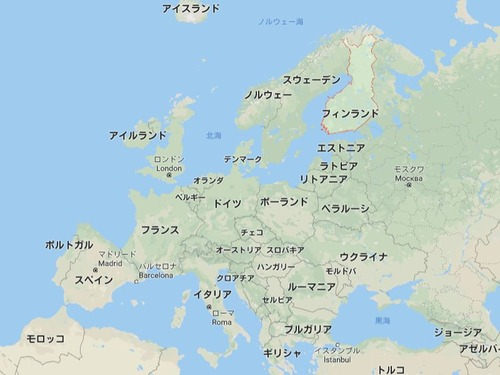 フィンランドは運転免許が難しい