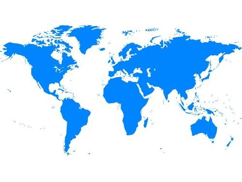 メルカトル図法での国と、実際の国のサイズの差