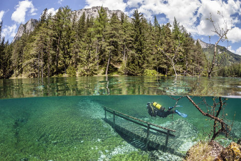 オーストリアの水中の公園04