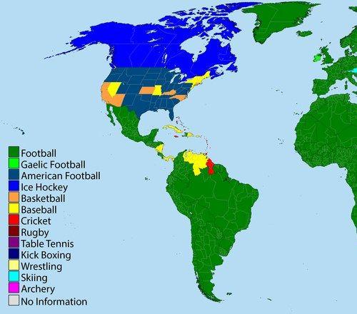 世界の国別人気のスポーツ02