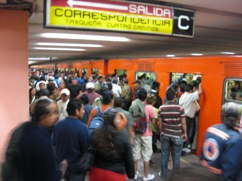 メキシコシティの地下鉄00
