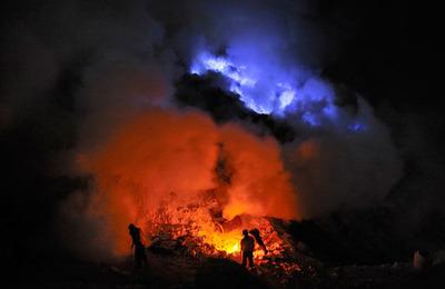 イジェン火山02