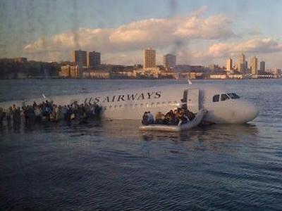 ハドソン川墜落