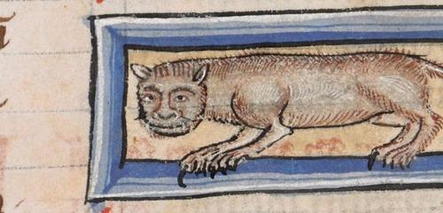 中世の絵画に登場する「猫」07