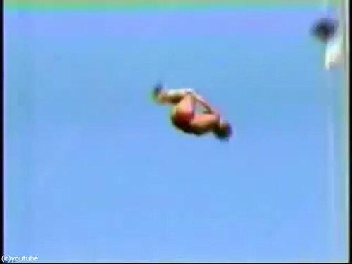 「飛込競技」のギネス記録10
