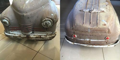 ソ連時代の子ども用のペダル車をレストア08