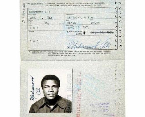 歴史上の有名人のパスポート03