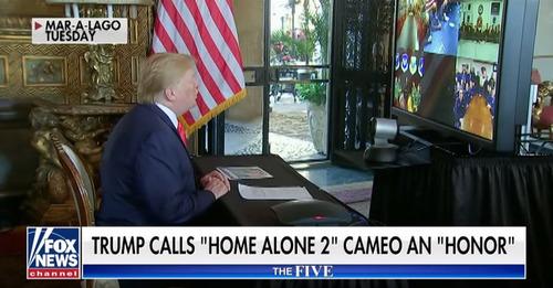 ホームアローン2のトランプ大統領、カットされる01