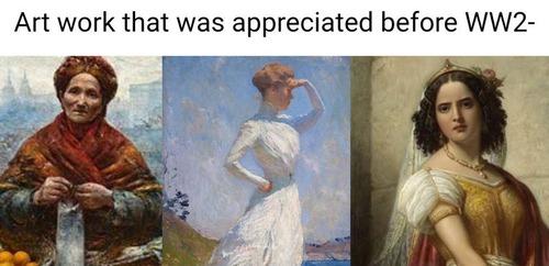 評価される芸術作品の戦前と戦後01