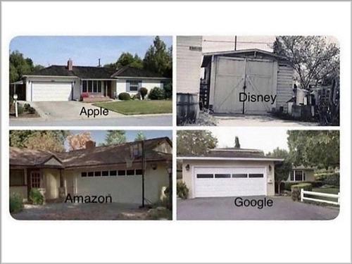世界的なこれらの大企業はすべてガレージから始まったが00