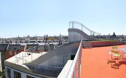 デンマークの屋根の上の遊び場07