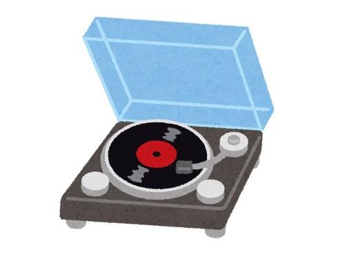 アナログレコードがCDの売上を超える00