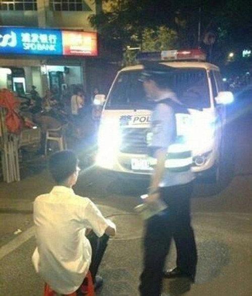 中国でハイビームをつけっぱなしにするとこんな罰を受ける01