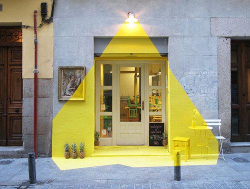 スペインの視覚効果レストラン01
