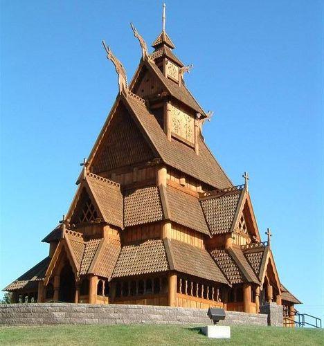 ボルグン・スターヴ教会04