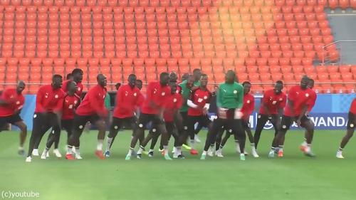 セネガルのトレーニング02