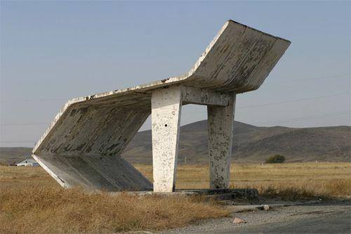 ソ連のバス停13