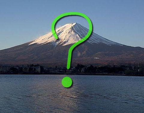 宇宙から見た「富士山」00