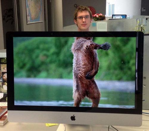 職場で「動物園ごっこ」09