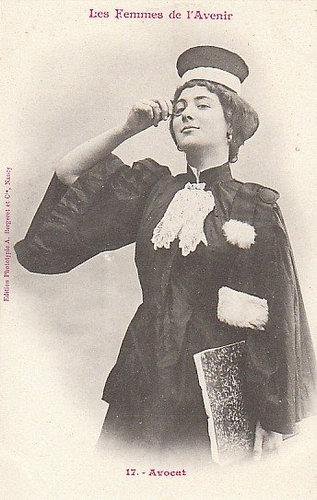 100年前に想像した未来の女性像17