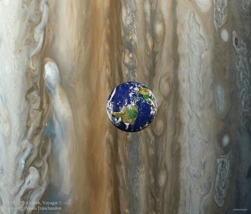 木星の衛星イオの位置に地球があったら01