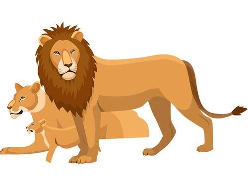 髪の毛でライオン