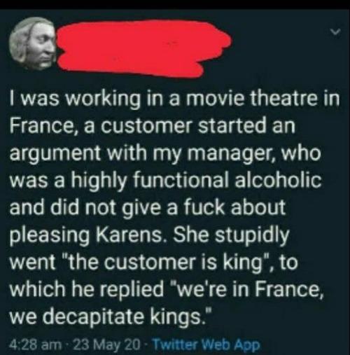 フランス人の客への対応01