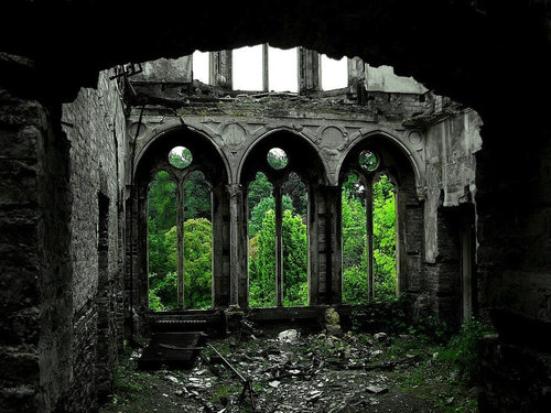 美しい廃墟18