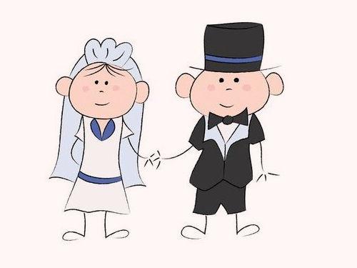 結婚式で花婿の友達の写真00