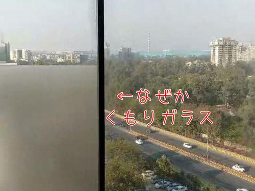 インドのホテルの窓00