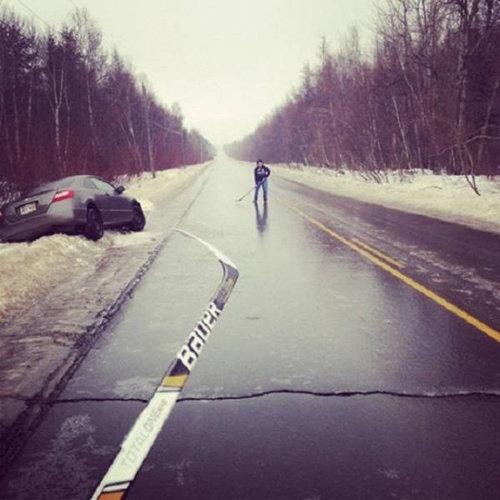 カナダの寒さ12