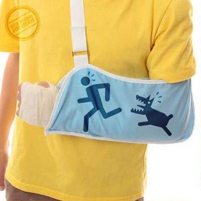 骨折用・三角巾04