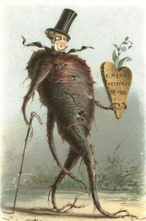 19世紀のクリスマスカード06